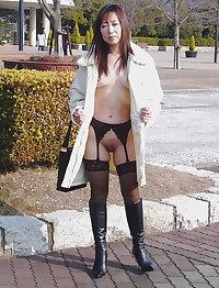 Japanese mature woman, skilled loose pussy, gang bang