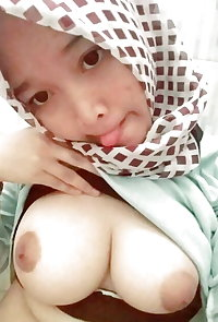 Naughty indonesian slut with hijab