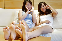 Asian feet: most beautiful feet