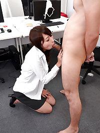 Japanese office girl fucked