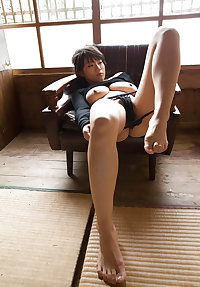 Some sexy japanese sluts: asian legs, face, feet and ass