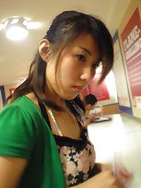 Taiwanese school girl
