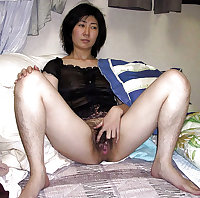 Hairy Japanese Housewife