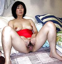 Hairy Japanese Housewife