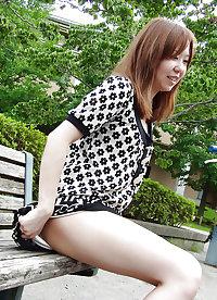 Japanese milf fucked in public